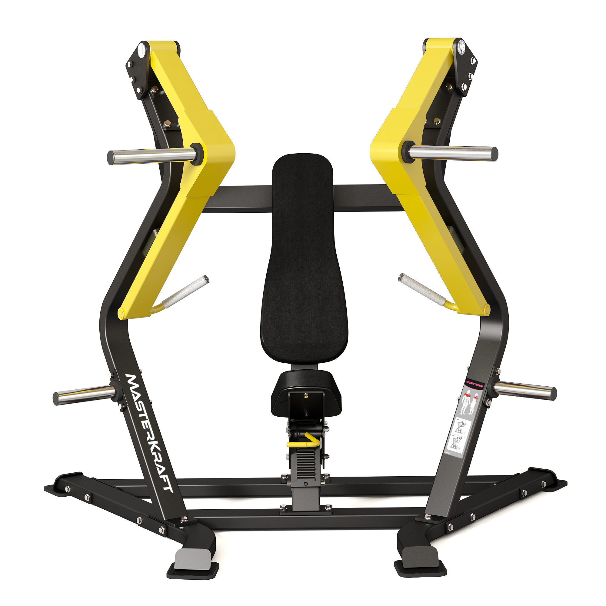MasterKraft Premier Decline Chest Press Machine