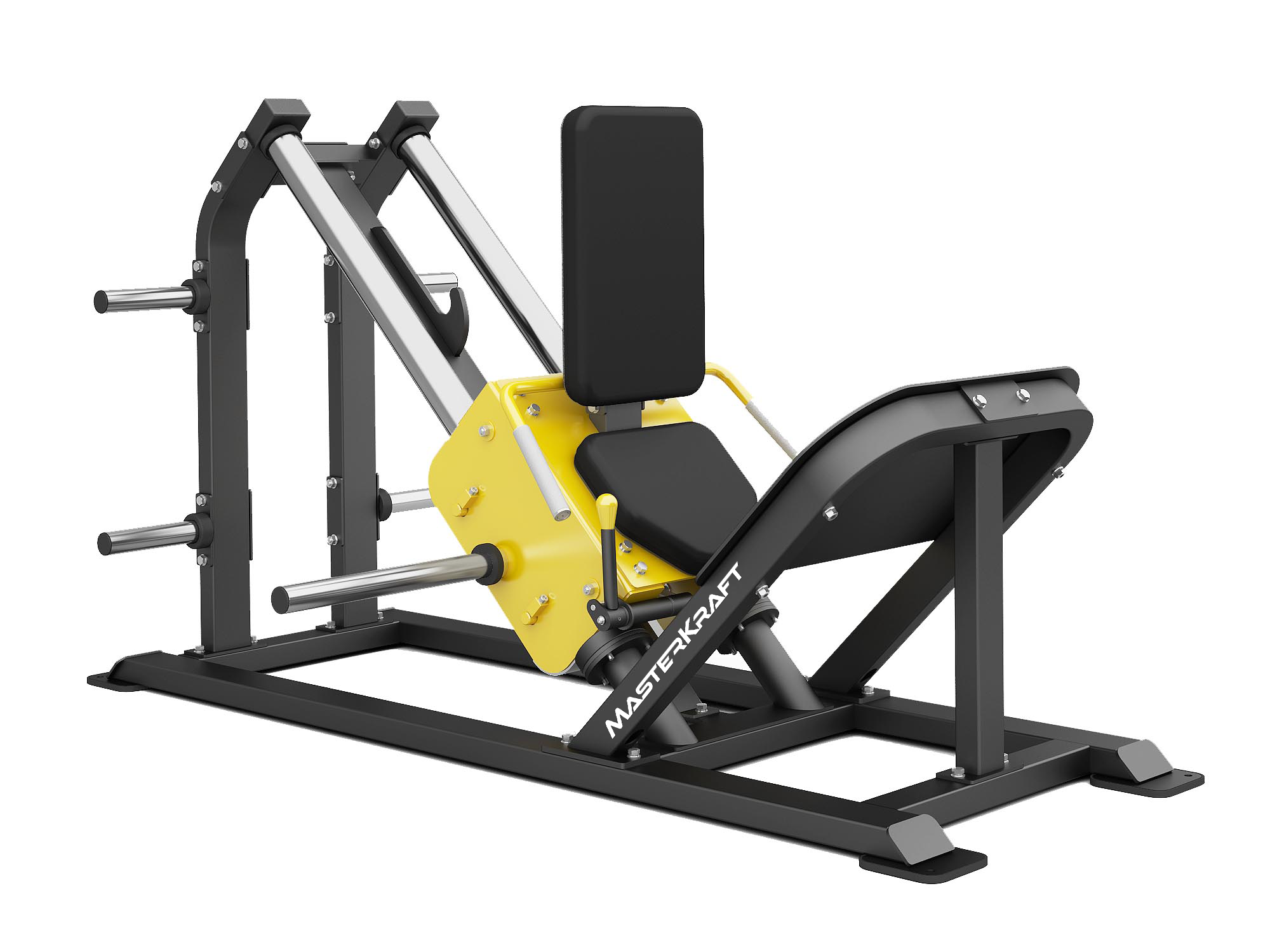 MasterKraft Premier Leg Press & Hack Squat Machine