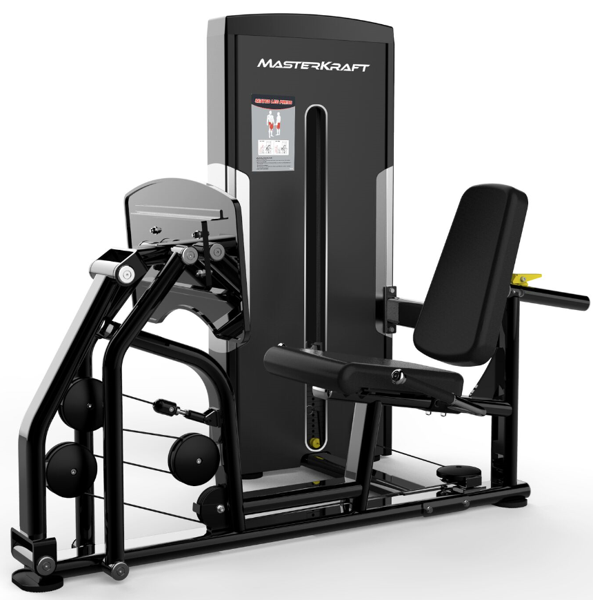 MasterKraft Premier Selectorize Leg Press Machine
