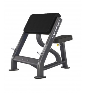 MasterKraft Advanced Seated Preacher Curl Bench
