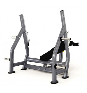 MasterKraft Advanced Olympic Decline Bench Press