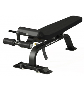 MasterKraft Premier Adjustable Abdominal Bench