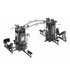 MasterKraft Premier 8 Station Multi Gym (220lbs stacks)
