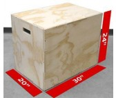 3-In-1 Plyometric Box